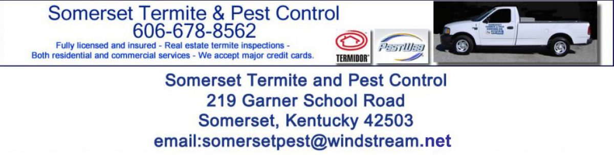 Somerset Termite and Pest Control